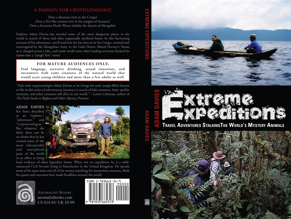 Anomalist Books | simply phenomenal | Extreme Expeditions