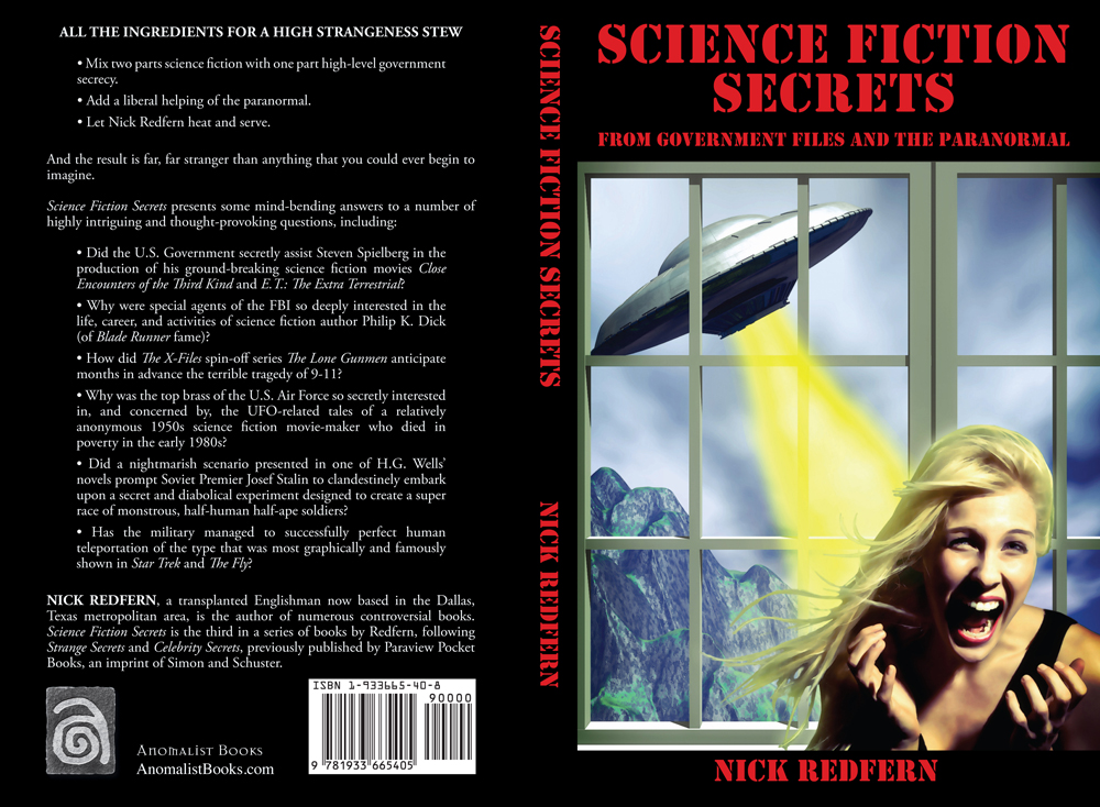Anomalist Books | simply phenomenal | Science Fiction Secrets